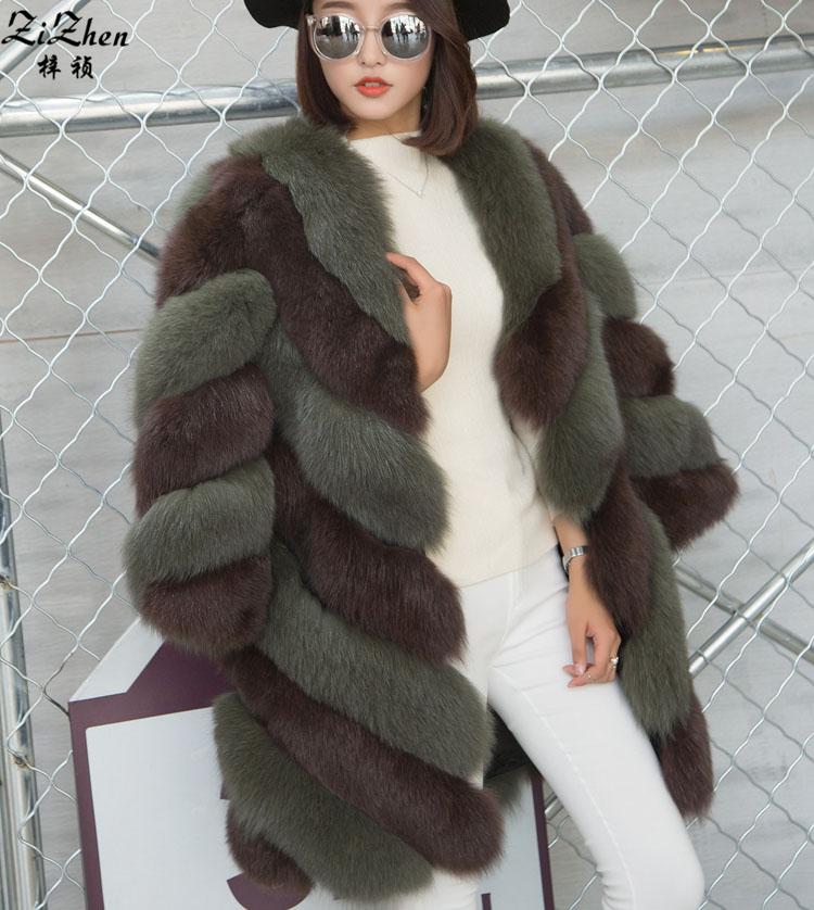 Long Fox Fur Coat Promotion-Shop for Promotional Long Fox Fur Coat