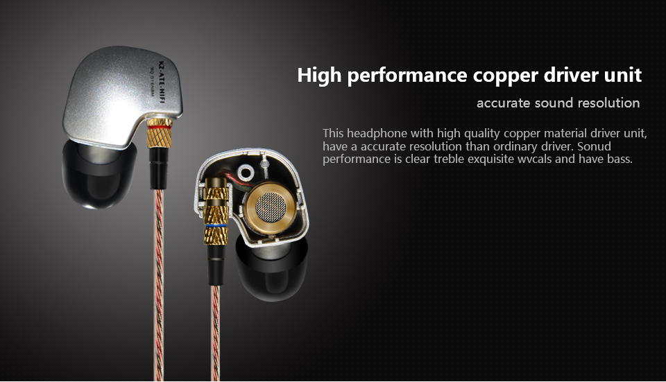 New 100% Original KZ ATE 3.5mm earbud In Ear Earphones Stereo Sport headset Super HIFI Bass Noise Isolating With Mic earbud