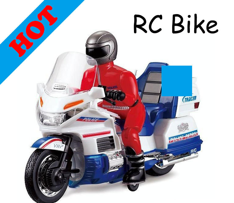 2014 Real Sale Ready-to-go free Shipping Scale Radio Remote Control Electric Rc Motorcycle High Speed Motorbike Stunt Bike(China (Mainland))