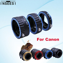 Buy 5 Color Tube Ring Canon EOS 550D 1100D 1000D 5D3 650D 600D DSLR Camera AF Mount Auto Focus Macro Extension EF-S Lens Adapter for $13.95 in AliExpress store