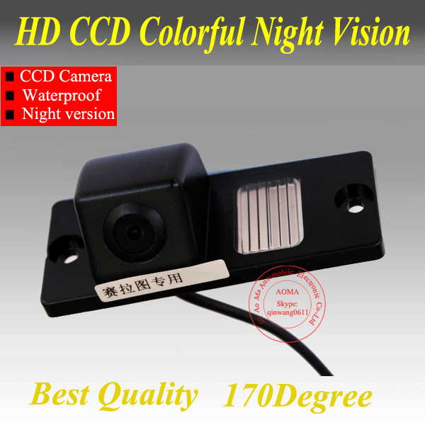 For Kia Cerato Car RearView Camera , Car Reversing Camera with WaterProof IP69 + Wide Angle 170Degree + CCD + Free Shipping(China (Mainland))