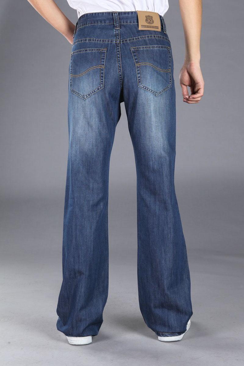 Plus Size Bell Bottom Jeans - Jeans Am