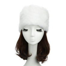 New Fashion Women Russian Cossack Hat Faux Fur Flat Top Luxury Brand Leopard Print Hat Brown/White/Black(China (Mainland))