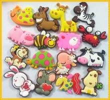 16 unids/lote Animal Zoo imán del refrigerador del refrigerador de recuerdos mono perrito ( puede mezclar regalo y regalo mensaje )(China (Mainland))