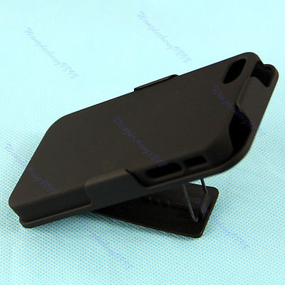 Free Shipping New Smooth Case Protector With Belt Clip Swivel Holster Stand For iphone 4 4G 4S Y106(China (Mainland))