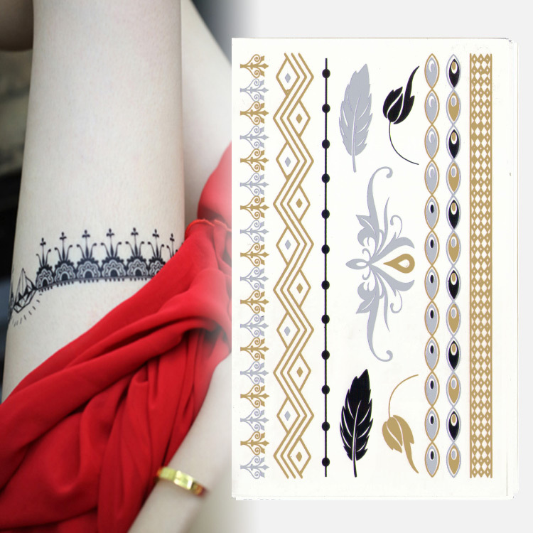 2015 Hot Sales High Quality Popular Gold Horse Eye Simple Bracelet Gold Bracelet Feet Template Henna Tattoo On Hand(China (Mainland))