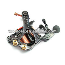 Shipping from USA 5pcs/Lot  Professional Cast Iron Handmade Tattoo Machine Gun with 10 Wrap Coils for Shader WS-M366(China (Mainland))