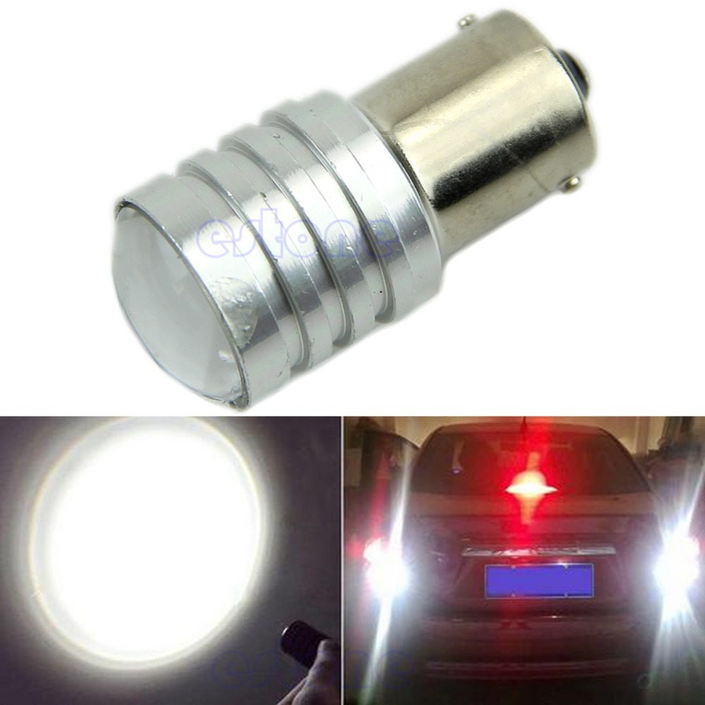 White 1156 BA15S P21W High Power CREE Q5 LED Car Bulb Reverse Light 12V(China (Mainland))