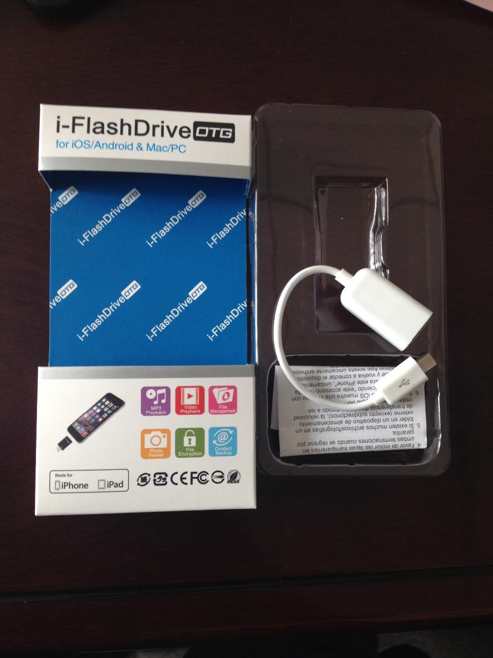 dick flash ... 2015 new product i-flash driver 128gb OTG usb HD U-dick flash drive