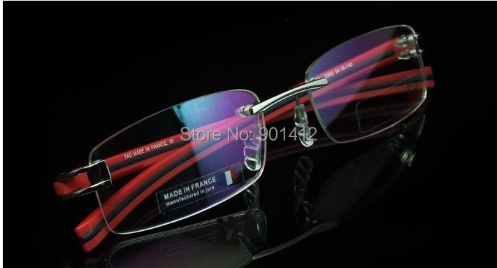 free shipping TH7644 rimless Eyeglasses Frame whole sale  optical frame TR90 eyeglasses for men for women RX whole sale REDОдежда и ак�е��уары<br><br><br>Aliexpress