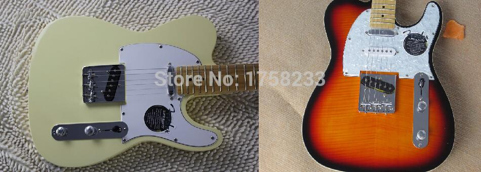 2019 Free shipping ! TELE solid body Guitars Telecaster OEM Electric Guitar in stock(China (Mainland))