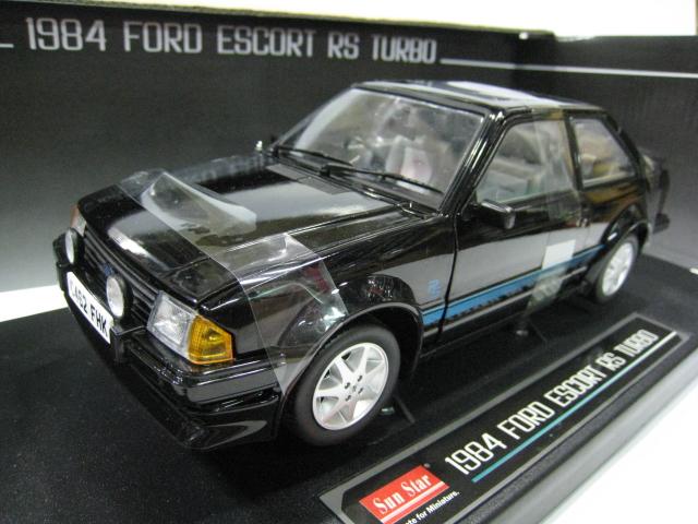 The sun star /SunSatr 1/18 ESCORT RS TURBO alloy models Ford(China (Mainland))
