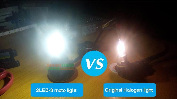 21- led p43t BA20d motorcycle head light headlight headlamp replacement original halogen bulb