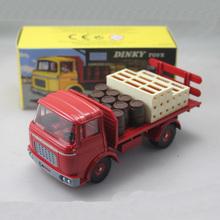 1:43 Dinky toys 588 PLATEAU BRASSEUR BERLIET GAK Camion Kronenbourg Red