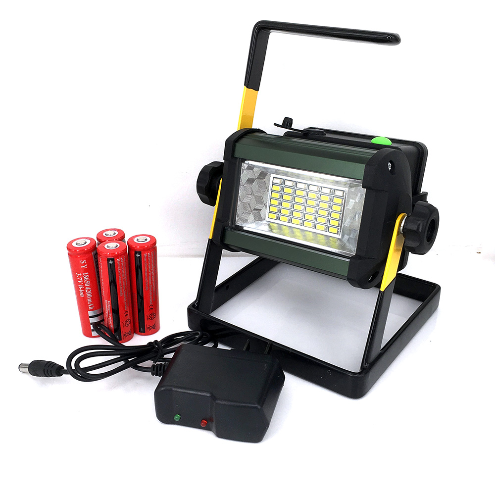 IPX67 36 LED Floodlight Portable Rechargeable Super Bright Work Lamp LED Street flood light for Camping Fishing Outdoor(China (Mainland))