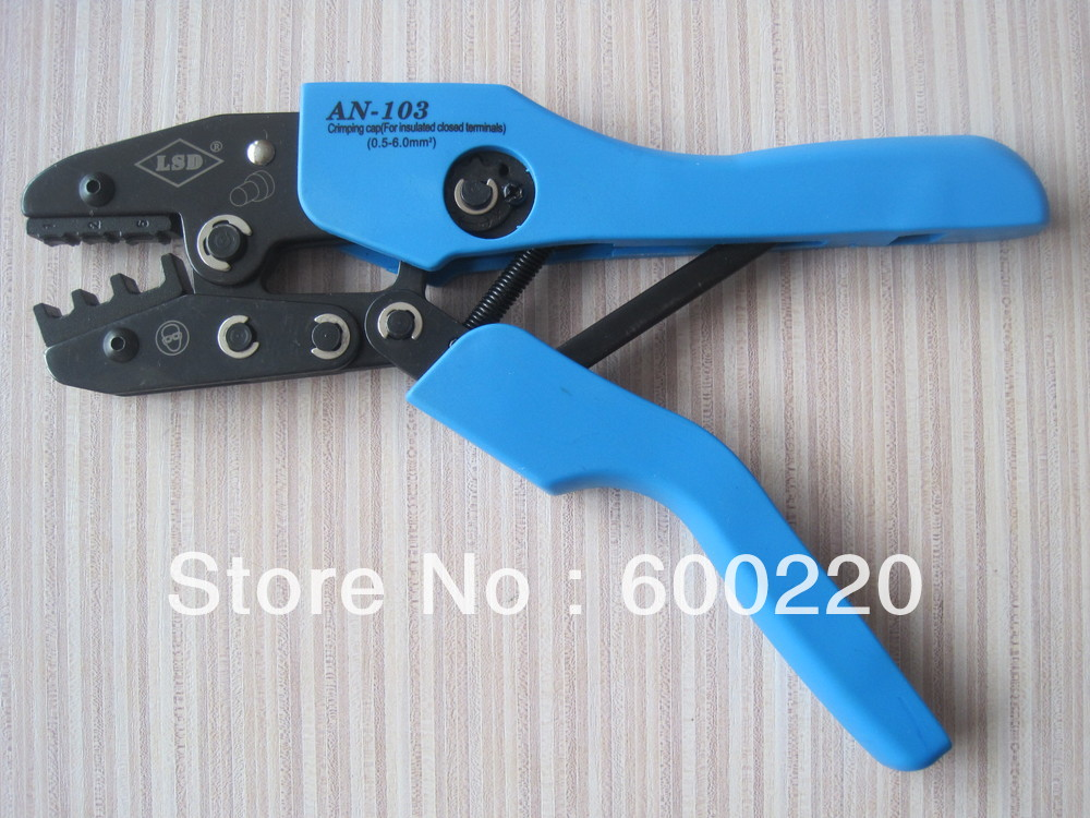 AN-103 Ratchet Crimping Tools for cap and insulated closed terminals(China (Mainland))