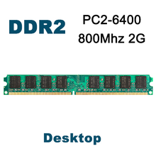 800 Mhz 2GB DDR2 KVR800D2N6/2G Brand New PC2-6400 New DIMM Memory Ram memoria ram Desktop Intel & AMD DDR2 Motherboard(China (Mainland))