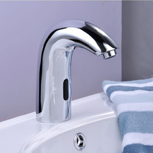 ITAS9912 Intelligent infrared automatic faucet single head cold faucet kitchen sensor modern good quality 304 stainless steel(China (Mainland))