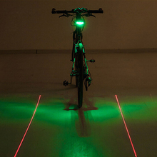 Buy WEST BIKING Bicycle Laser Taillights Parallel Lines Mountain Bike Night Riding Safety Warning Light Equipment Accessories for $8.27 in AliExpress store