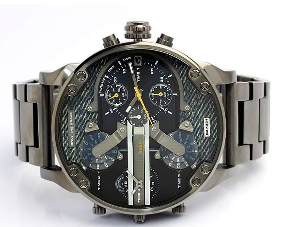 2016 Новая мода календарь полная стали Смотреть Военный Бизнес Случайный кварцевые Наручные Часы Марка Relojes Hombre Мужской