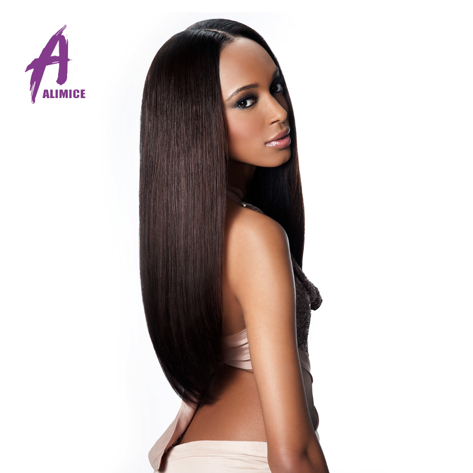 Unprocessed Malaysian Straight Hair 3 Bundles ALIMICE Human Hair Products Malaysian Virgin Hair Straight Remy Human Hair Weave<br><br>Aliexpress