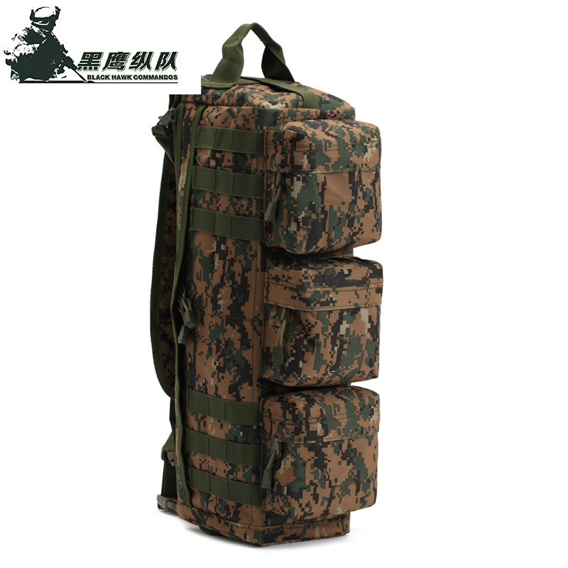 5 Color Tactical MOLLE Hiking Hunting Camping One Shoulder Bag Outdoor Assault Pack Military Hunting Backpacks(China (Mainland))