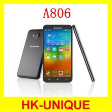 Original Lenovo A806 A8 Octa Core 4G Mobile Phone RAM 2G MTK6592 Android 4.4 ROM 16G 13MP 5.0 Inch Smartphone Free Shipping