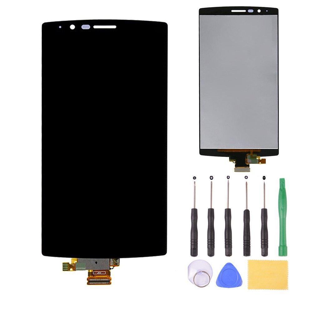 Free Shipping LCD Display+Touch Screen+Free Tools Original 100% test good Black For LG G4 H815 F500 VS986