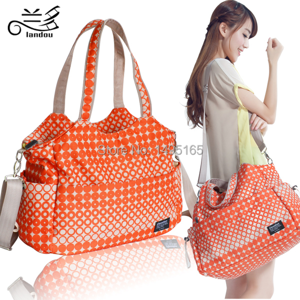 Free Shipping! 4 colors 2016 Fashional Multifunction Baby Diaper Bags/Baby Changing Bag With Big Capacity(China (Mainland))