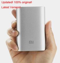 Latest 100% original xiaomi power bank 10000mAh xiaomi 10000 external battery pack portable charger mi charger mobile powerbank(China (Mainland))