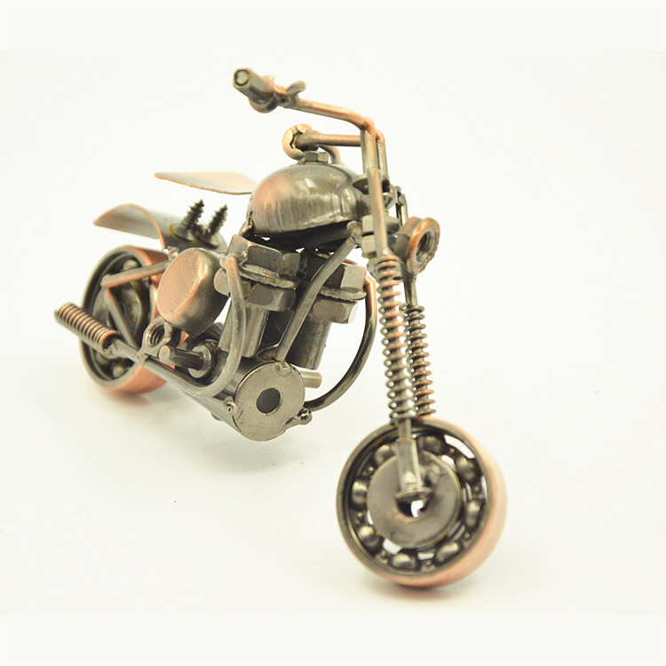 China Supplier 3d Motorcycle Models Metal Motorbike Model Iron Crafts Ornaments Perfect Gifts For Christmas And Birthday(China (Mainland))