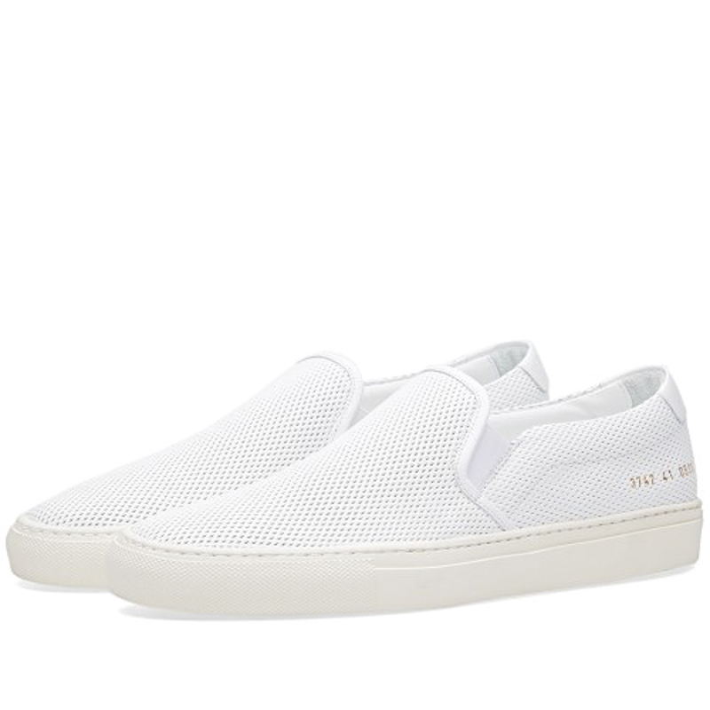 Фотография Original Common Projects Shoes Women Men Spring Autumn Basse White Genuine Leather Sheepskin Casual Shoes Scarpa Blanche Mujeres