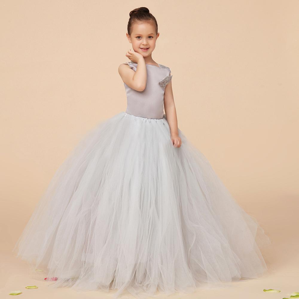 100-140cm short wedding dress pageant navy blue flower girl dresses toddler vestido renda maxi sommerkleid vestido princesa 111(China (Mainland))