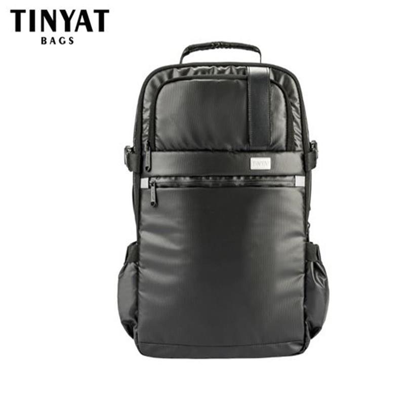 TINYAT Men School backpack Functional Computer 17 inch Laptop backpack for Teenagers Large Sports Travel backpack t807 Black(China (Mainland))