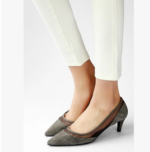 Spring 2015 shoes with thick spring with shallow mouth pointed Korean Womens Casual women shoes in
