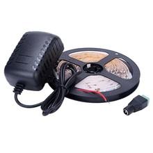 Buy 5M 300Leds Full Set IP20 Waterproof Led Strip Light 3528 DC12V Flexible Lighting String Ribbon DC12V Adapter R/G/B/White for $4.36 in AliExpress store