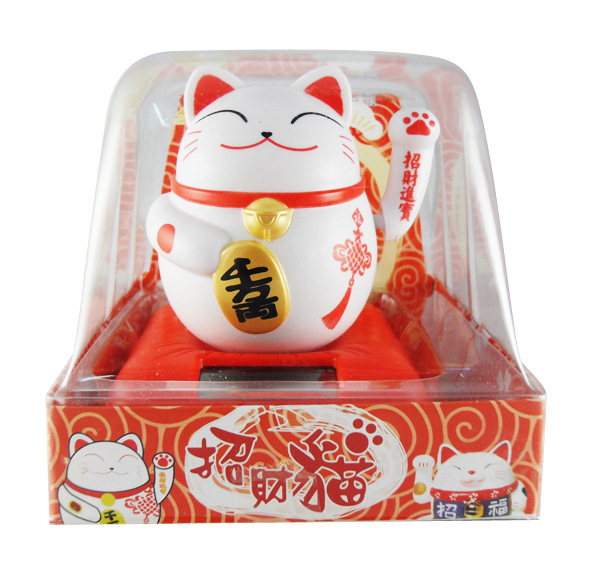 Car accessories solar Lucky Cat Lucky Cat Solar(China (Mainland))