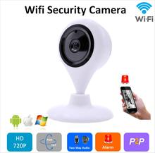 FREE SHIPPING 720P HD IP Camera WiFi Wireless TF Card Storage night vision Network Security CCTV Family Defender H.264 P2P