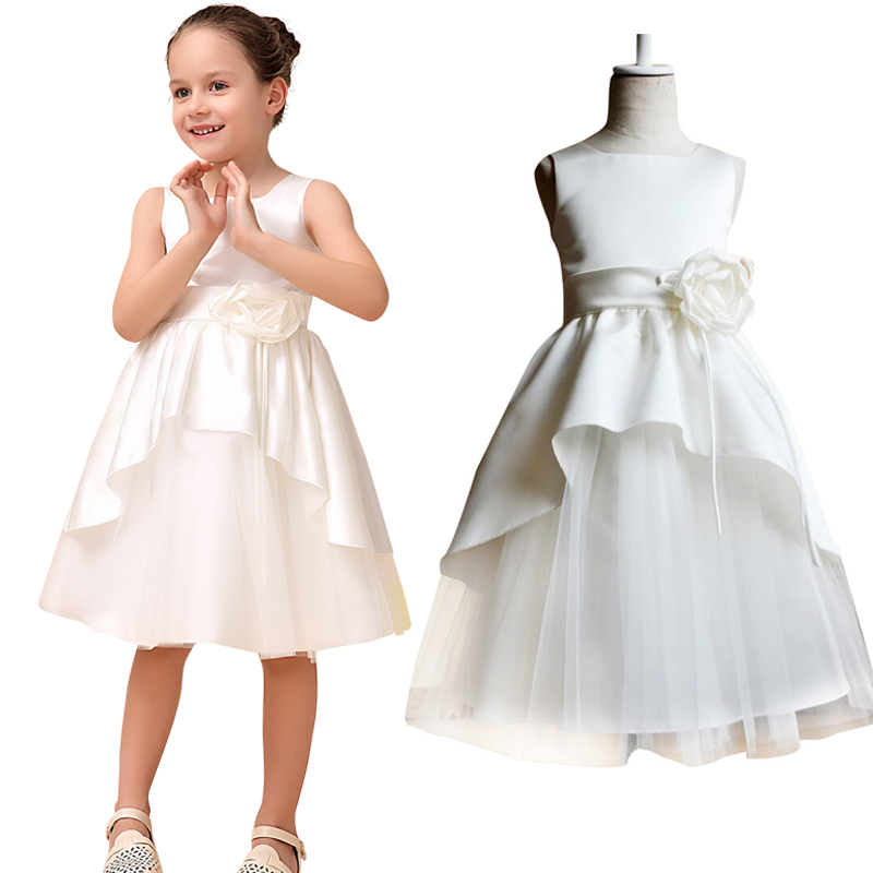 Kids brand flower girl dresses for weddings girls pageant for Dresses for teenagers for weddings