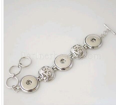 product Wholesale hot selling snaps jewelry buttons bracelets fit snaps buttons from www partnerbeads com KB0256