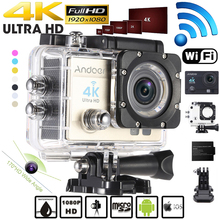 "Andoer 2"" Ultra-HD LCD Wireless Mini 16MP 4K Wifi Action Camera 1080P Sports Action Video Cameras Camcorder(China (Mainland))"