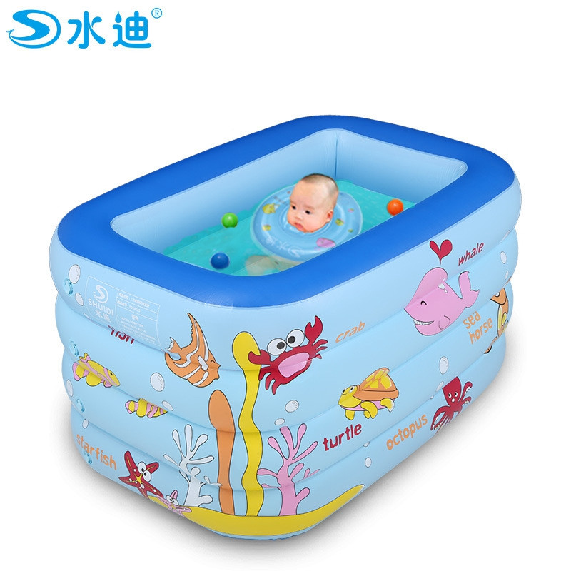 Wholesale- Inflatable Pool Portable Cartoon 4layers Children ...