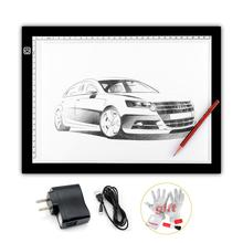 2015 New Parblo A4 Led Light Pad Copy Tracing Borad Slim A4S Graphic Led Light Pad as Huion L4S + 3 in 1 Cleaning Kit (Gift)