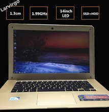 In-tel celeron J1900 14 inch Laptop 1.99GHz 8G/500GB/64G SSD Quad Core Winds7/8 Wifi ultrabook USB3.0 PC Computer notebook HDMI(China (Mainland))