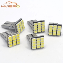 Buy wholesale 10Pcs T10 W5W Canbus White 3020 1206 12SMD Vehicle Tail Dashboard Lamp Car Auto Wedge Turn Signal Bulb 12Led DC 12V for $2.94 in AliExpress store