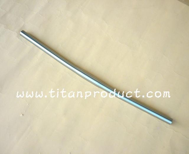 Titanium Bike Handlebar Clamp Diamter 25.4mm x Length 580/600/620/640/660mm x 3.5 Degrees