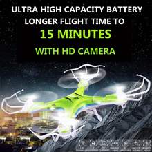 Free Shipping JJRC H5P 2.4G 4CH 6Axis RC Quadcopter Drone RTF Hexacopter Professional Drones Can Add Camera with LED Light