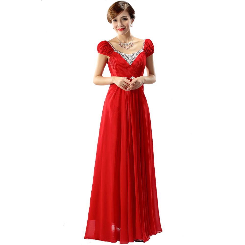Formal Evening Dress for Pregnant Women Wedding Prom Dress with Sleeves Long V-neck Bandage Plus Size Vestidos Noche Embarazadas(China (Mainland))