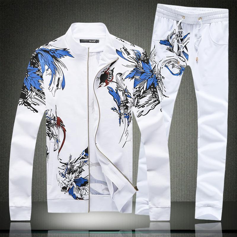 2015 New winter&amp;Autumn Mens plus-size Brand Sports Tracksuit Set casual Sweatshirts Sportswear Jackets Pants Two Pcs Sets CoatОдежда и ак�е��уары<br><br><br>Aliexpress