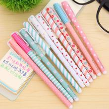 10 Pcs/lot Color Gel Pen Kawaii Stationery Korean Flower Canetas Escolar Papelaria Gift Office Material School Supplies(China (Mainland))
